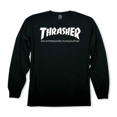 Thrasher Skate Mag Long Sleeve Black - Xtreme Boardshop