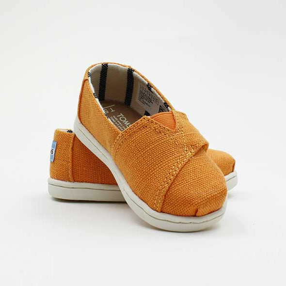 Toms Tiny Classic Canvas Heritage Russet Orange - Xtreme Boardshop
