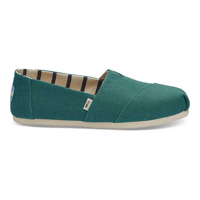 Toms Women's Classics Canvas Heritage Teal
