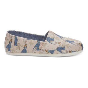Toms x Disney Women's Classics Sleeping Beauty Pink