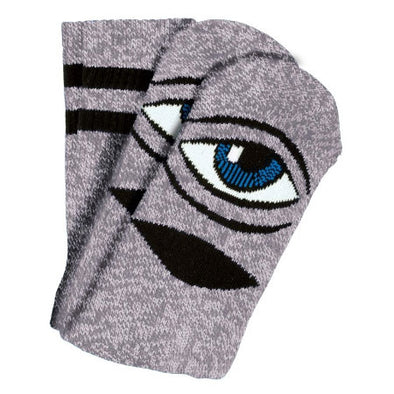 Toy Machine Sect Eye Sock Pink Heather