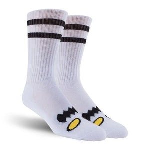 Toy Machine Monster Sock White