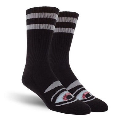 Toy Machine Sect Eye Sock Black