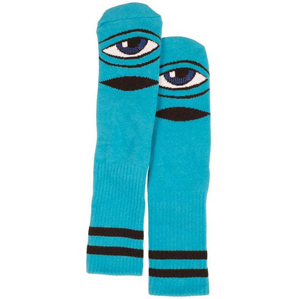 Toy Machine Sect Eye Sock Blue