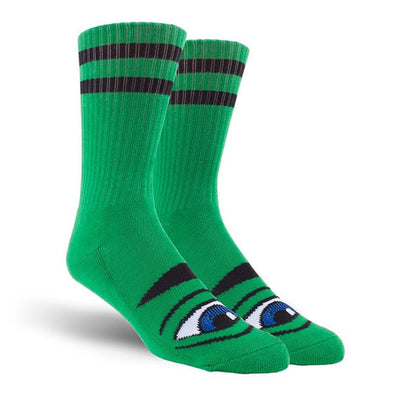 Toy Machine Sect Eye Sock Kelly Green