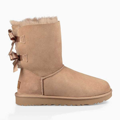 UGG Women's Bailey Bow II Boot (1016225) Fawn