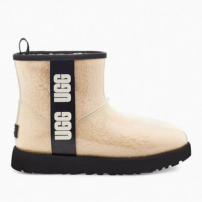 UGG Women's Classic Clear Mini Boot (1113190) Natural/Black