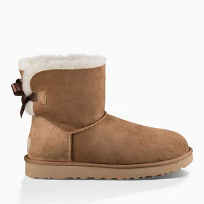 UGG Women's Mini Bailey Bow II Boot (1016501) Chestnut