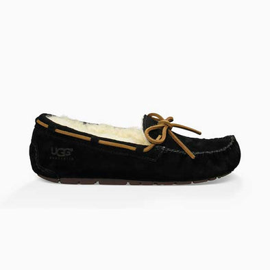 UGG Women's Dakota Slipper (5612) Black - Xtreme Boardshop