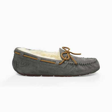UGG Women's Dakota Slipper (5612) Pewter - Xtreme Boardshop