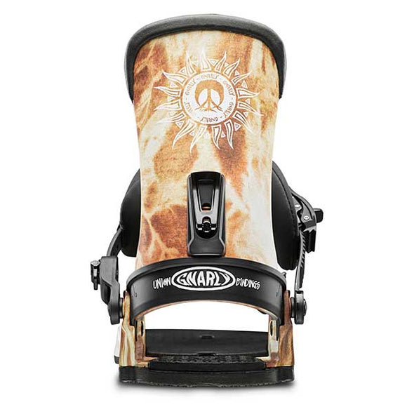 Union Binding 2019 Men's Union Gnarly Snowboard Binding Acid Wash