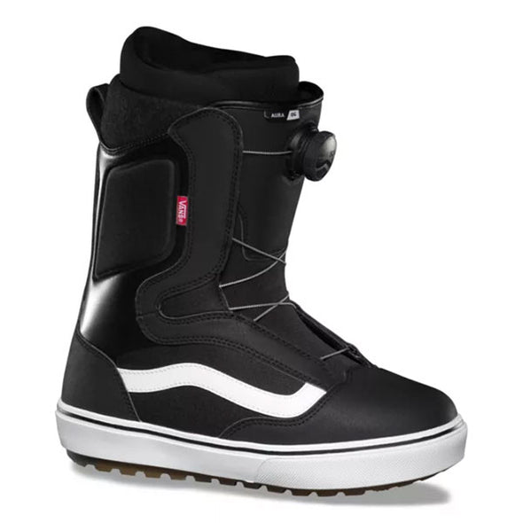 Vans 2021 Men's Aura OG Snowboard Boot Black/White