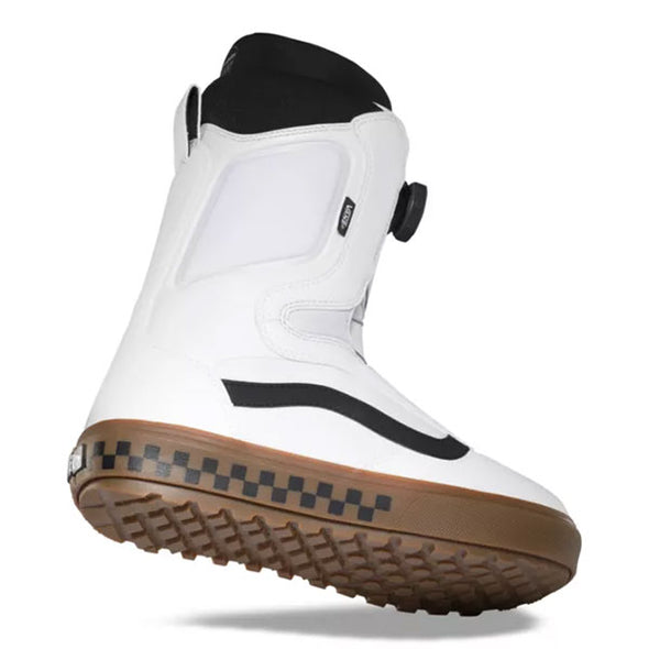 Vans 2021 Men's Aura OG Snowboard Boot White/Gum