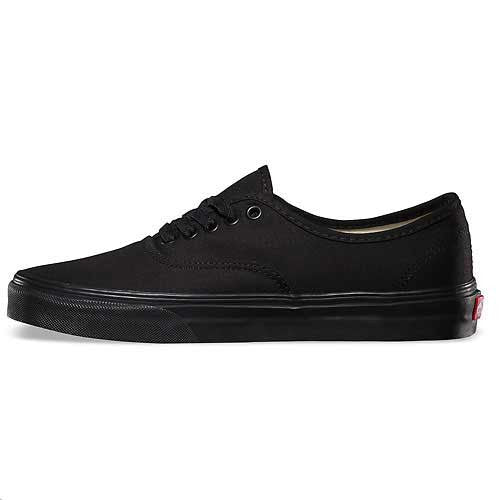 Vans Authentic Black/Black - Xtreme Boardshop