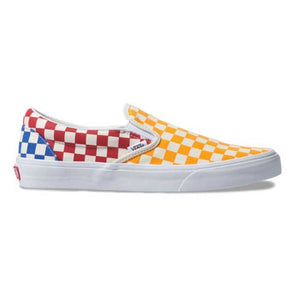 Vans Slip-On Checkerboard Multi/True White