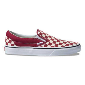 Vans Slip-On Checkerboard Rumba Red/True White