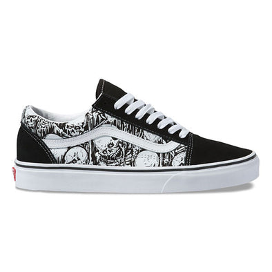 Vans Old Skool Forgotten Bones Black/True White