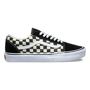 Vans Old Skool Lite Checkerboard Black/White - Xtreme Boardshop