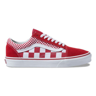Vans Old Skool Mix Checker Chili Pepper/True White