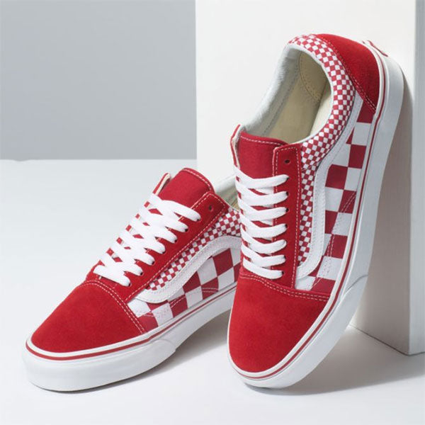 500455fdf74 Vans Old Skool Mix Checker Chili Pepper True White – Xtreme ...