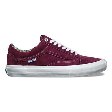 Van Old Skool Pro Ray Barbee OG Burgundy
