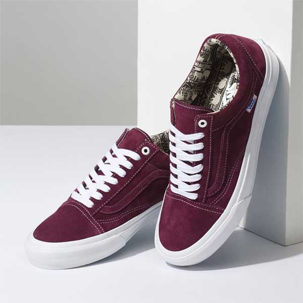3f2e6bb2746b Van Old Skool Pro Ray Barbee OG Burgundy – Xtreme Boardshop