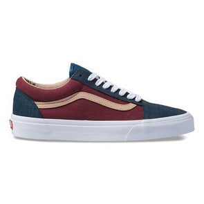Vans Old Skool Textured Suede Sailor Blue/Port