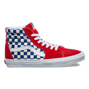 Vans Sk8-Hi BMX Checkerboard True Blue/Red - Xtreme Boardshop