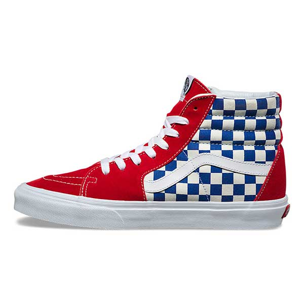 Vans Sk8-Hi BMX Checkerboard True Blue Red – Xtreme Boardshop 5b18a1ddd