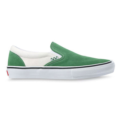 Vans Skate Slip-On Juniper/White