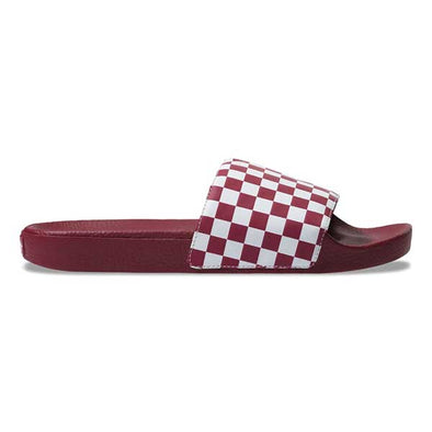 Vans Slide-On Checkerboard Rumba Red/White