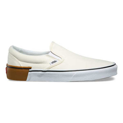 Vans Slip-On Gum Block Classic White