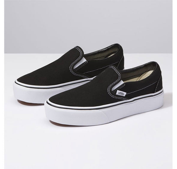 Vans Women's Slip-On Platform Black