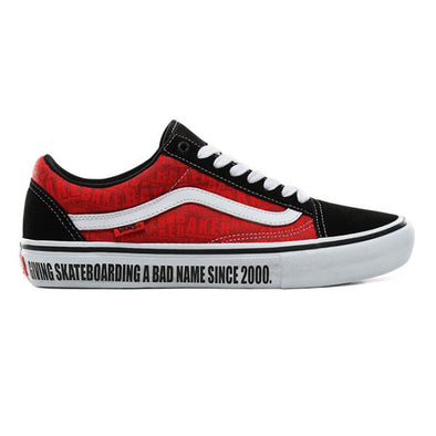 Vans x Baker Old Skool Pro Black/White/Red