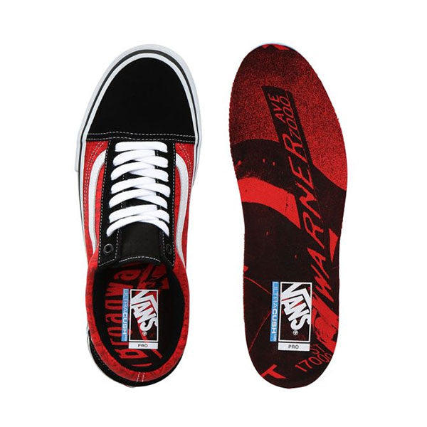 Vans x Baker Old Skool Pro Black/White/Red -