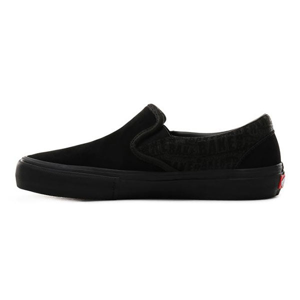 Vans x Baker Slip On Pro BlackBlackRed