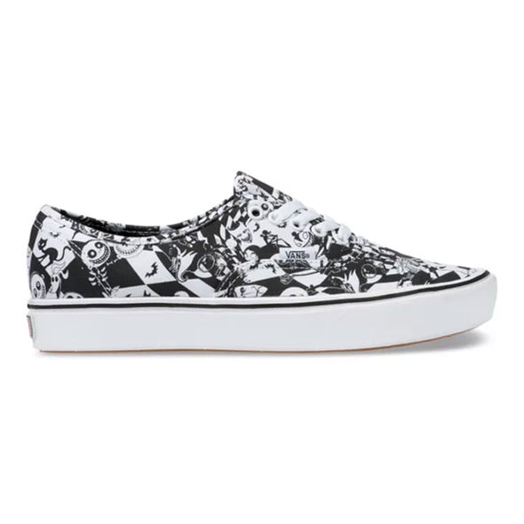 Vans x Disney Authentic ComfyCush The Nightmare Before Christmas/Multi Checker