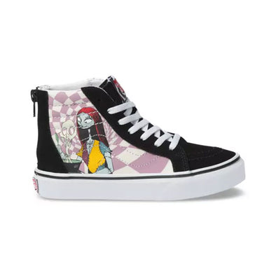 Vans x Disney Kids Sk8-Hi Zip The Nightmare Before Christmas/Sally's Potion