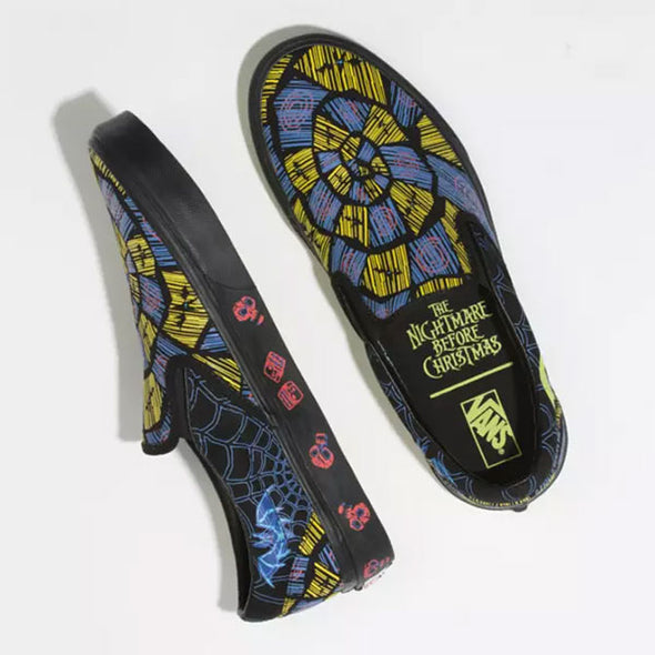 Vans x Disney Slip-On The Nightmare Before Christmas/Oogie Boogie