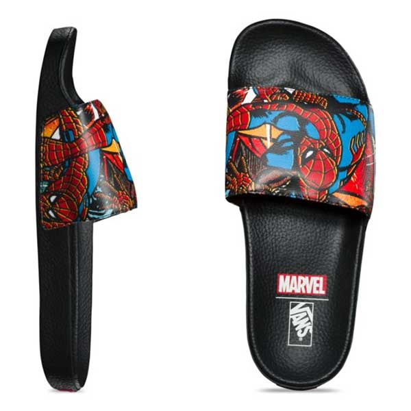 677d74d9e4 Vans x Marvel Slide-On Spider-man Black – Xtreme Boardshop
