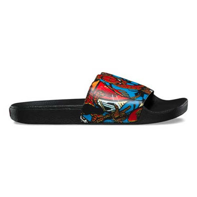 Vans x Marvel Slide-On Spider-man/Black
