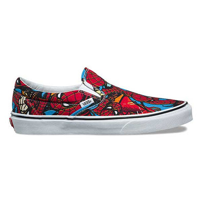 Vans x Marvel Slip-On Spider-Man/Black