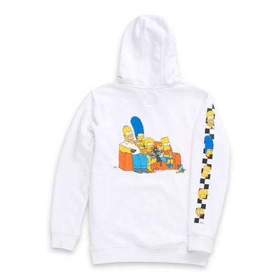 Vans x The Simpsons Boys Family Pullover Hoodie White