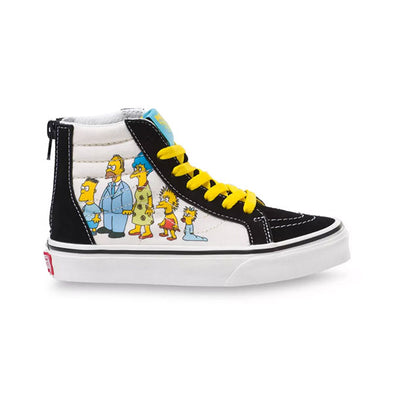 Vans x The Simpsons Kids Sk8-Hi Zip 1987-2020