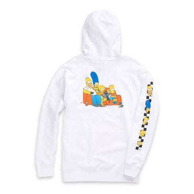 Vans x The Simpsons Family Pullover Hoodie White