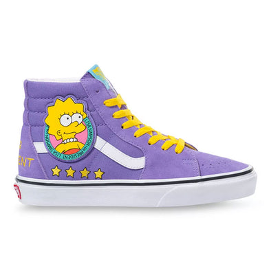 Vans x The Simpsons Women's Sk8-Hi Lisa 4 Prez