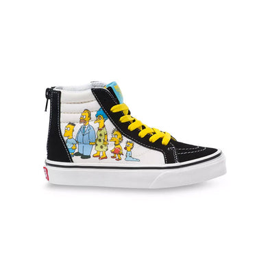 Vans x The Simpsons Toddler Sk8-Hi Zip 1987-2020