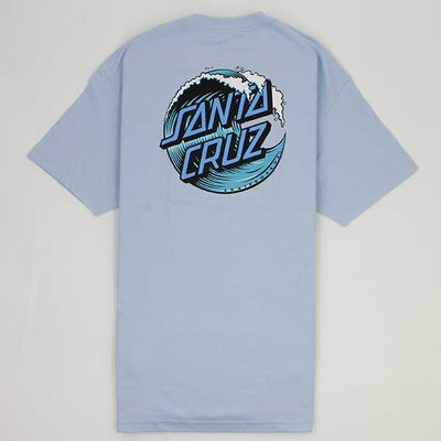 Santa Cruz Wave Dot Powder Blue - Xtreme Boardshop