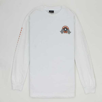 Bronson Winners Circle L/S White - Xtreme Boardshop