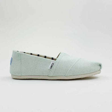 Toms Women's Classic Canvas Heritage Aqua Glass - Xtreme Boardshop